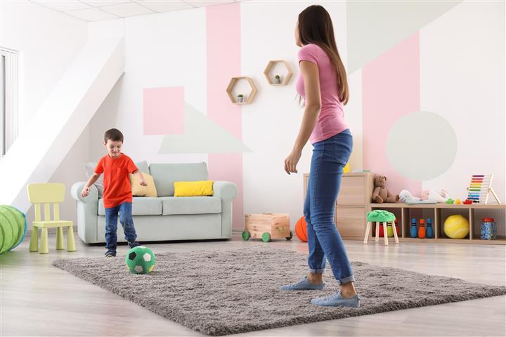 פעילויות לילדים על השטיח